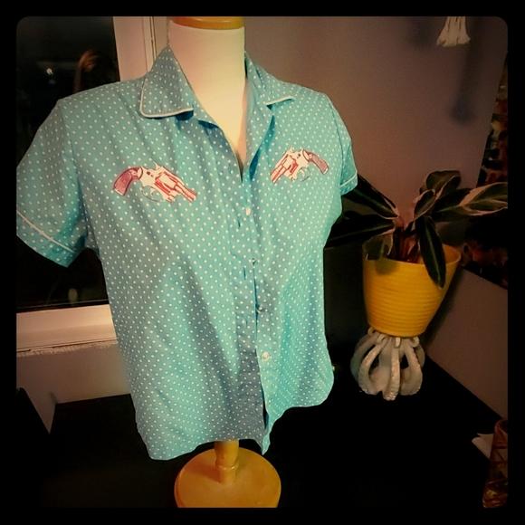 Vintage Pistol button up shirt